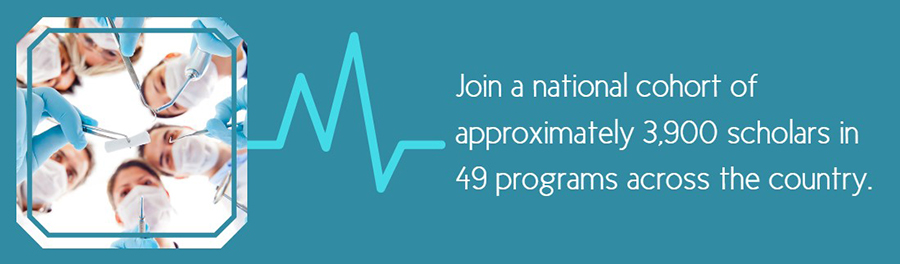 join a national cohort of approximently 3,900 scholars in 49 programs across the country