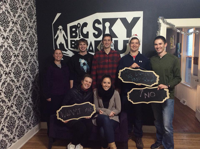 wwami students at big sky break out